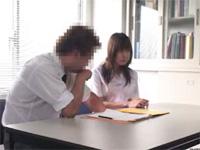 わいせつ指導事件!!補修授業で生徒に迫る変態教師!![無料動画]