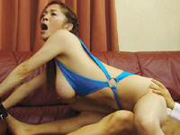 B100★Gカップ★友崎亜希サンをヤリまくれ♪[無料動画][1]