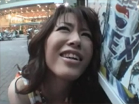 美脚×ローライズ短パン×露出デート 姫野愛[5]