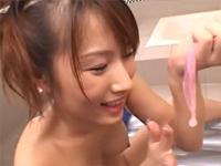 安部ちなつの超美乳ソープ嬢[4]