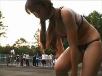 羞恥!県大会優勝の現役テニス少女がデビューから衝撃の露出FUCK! 高城ゆい  [4]
