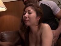 黒人巨大マラ VS 美原咲子 中出し破壊絶叫バズーカ[2]