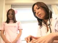 綺麗な巨乳女医と新人爆乳ナース 森永ひよこ 横山みれい[1]