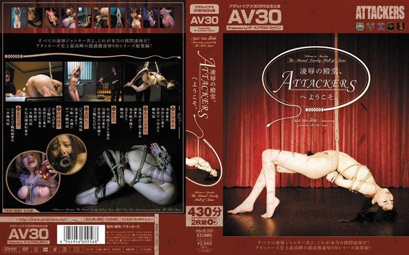 【AV30】凌辱の殿堂、ATTACKERSへようこそ。
