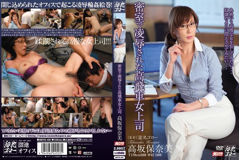 澤村レイコ(高坂保奈美、高坂ますみ):密室で凌辱された高飛車女上司 高坂保奈美