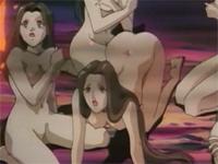 アニメ無修正:Tentacle Sex Pit [海外エロ動画]