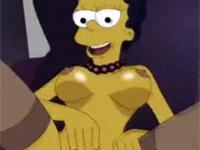 アニメ無修正:Marge se Toca[海外エロ動画]