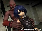アニメ無修正:Alien Fucks 3D Emo Teen! [海外エロ動画]