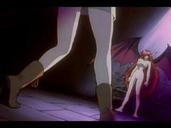 アニメ無修正:Vampire sucking another girl [海外エロ動画]