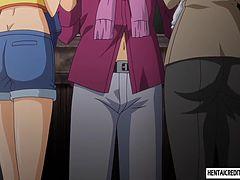 アニメ無修正:Hentai girl fucked rough [海外エロ動画]