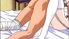 アニメ無修正:Master trains his hentai whore [海外エロ動画]