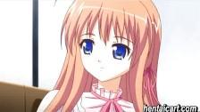 アニメ無修正:Hottie anime schoolgirl gets slammed [海外エロ動画]