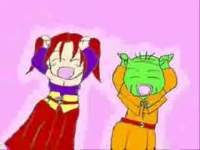 【手書きMAD】ドラクエ8のキャラクターでウッーウッーウマウマ(゚∀゚)