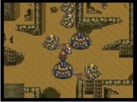 SFC版FF6 帝国軍陣地でイベントを発生させずに進むと・・・.