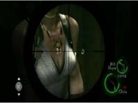 バイオハザード5 シェバの胸の当たり判定を検証してみた