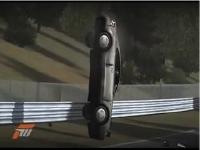 Xbox360『Forza3』で起きた凄い事故動画