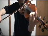 ファイナルファンタジー13 バイオリンで通常戦闘曲『閃光』を弾いてみた