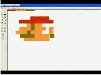 ペイントでマリオを本物そっくりに描いていく動画