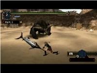 【MHP2G】ラージャン 殴り時の各武器の動き方 参考動画