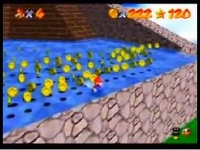 スーパーマリオ64 コインを無限に増殖させるバグ技