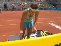プレー以上におっぱいが気になってしまうテニス選手。