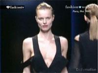 ファッションショーでモデルのおっぱい見えてるシーンダイジェスト2
