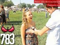 なにこの神企画。ロシア美女1000人におっぱいを触らせてもらった動画。羨ましい