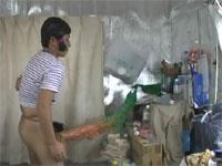 チンコの日本列島で暴れる男の動画が話題に。タイトルから既にイミフw