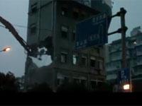 ああ・・・やっぱり・・・。中国式ビル解体術。
