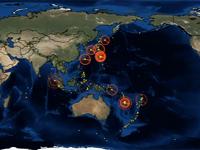 日本フルボッコすぎ泣いた。2011世界の地震分布に驚愕したした動画