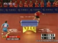 超動体視力・超反射能力・超瞬発力。卓球の神動画。