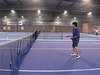 リアル・テニスの王子様 「黒鯱」 バックスピンでボールを自コートへ!
