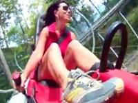 スピード感が堪らない!アルペン・コースターの車載映像。