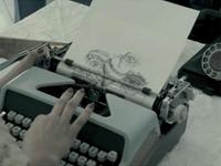 タイプライターで描かれた絵がすごい!