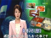 韓国軍の食事から「ネズミ、カエル、かたつむり」が・・・2年間に80回