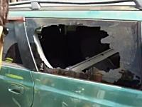 禁断のワザ。これはマジか?車の窓ガラスを指でトントンするだけでパリーン