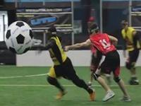 マジキチ競技「UTB」。スタンガン片手にボールを奪い合いゴールを決めるよ!
