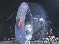 車で直径12.87メートルの巨大360°ループを走り抜けギネス記録に認定。中国