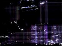 プラズマテレビに電圧を掛けると、おお・・おおう・・・な現象が起きる。