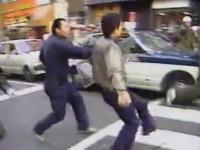 怖すぎ泣いた。市街地での暴力団同士の抗争を撮影したビデオ。昭和59年