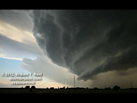 竜の巣だぁぁ!と言いたくなる巨大積乱雲「スーパーセル」かっけえ動画。