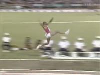 1991年から今も破られていない世界記録。走り幅跳び 8.95メートル。