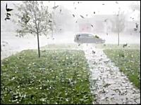 ダラスに逃げ場なし。13日にテキサス州を襲った雹の嵐がヤバすぎニゲタイ