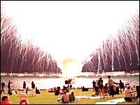 サンディエゴ大爆発の凄い映像があった。これはヤバい。ヤバすぎるw