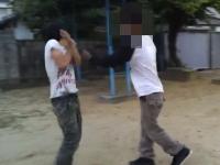 今度は中学生が暴行映像をアップする。「顔面やんなよ」とかどんだけDQN。