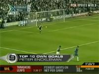 スポーツのオウンゴール、TOP10!! たまには有るさ、こんな事も・・・。