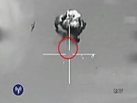 イスラエル空軍が領空に侵入した国籍不明の無人機を撃墜。その時の映像