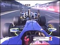 GP3メインストレートで前車と合体して「パータッチ加速」を実際にやってみた。