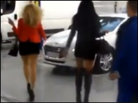 「これだから女は・・・。」と言われそうな駐車場での出来事。蹴りは入れるな