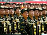 放射能自爆隊!?北朝鮮の軍事パレードに怪しげな人たちが映り話題になる。